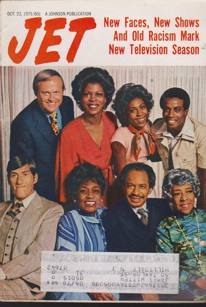 The Cast Of The Jeffersons On The Cover Of Jet