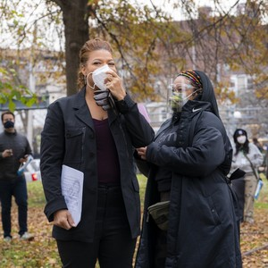 The Equalizer - Behind the Scenes - Queen Latifah