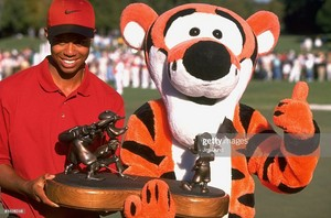 Tiger Woods And Tigger Disney Golf Classic