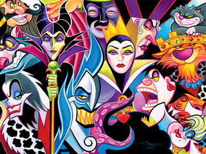 Walt Disney Wallpapers - Disney Villains 🖤