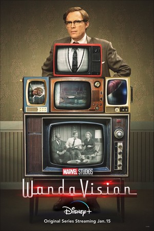 Vision || WandaVision || Promotional Poster