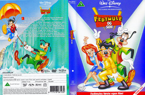 Walt Disney Classics DVD Covers - A Goofy Movie (Danish Version)