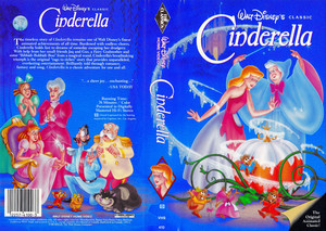 Walt Disney Classics VHS Covers - Cinderella (US Version)