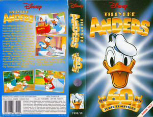 Walt Disney Classics VHS Covers - Donald Duck: 60th Birthday (Danish Version)
