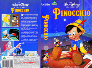 Walt Disney Classics VHS Covers - Pinocchio (Danish Version)