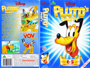 Walt Disney Classics VHS Covers - Pluto's Party (Danish Version)