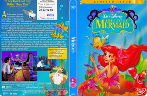 Walt Disney DVD Covers - The Little Mermaid (Limited Issue)