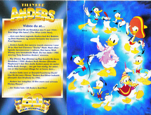 Walt Disney Images - Donald Duck: 60th Birthday (Danish Version)