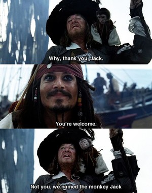Walt Disney Live-Action Screencaps - Captain Jack Sparrow & Hector Barbossa