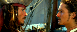 Walt disney Live-Action Screencaps - Captain Jack Sparrow & Will Turner