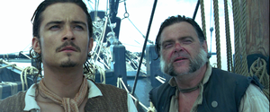 Walt 迪士尼 Live-Action Screencaps - Will Turner & Joshamee Gibbs