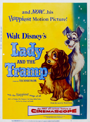 Walt Disney Posters - Lady and The Tramp