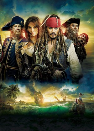 Walt 迪士尼 Posters - Pirates of the Caribbean: On Stranger Tides