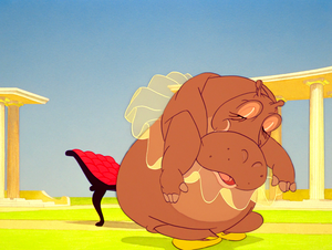 Walt Disney Screencaps - Hyacinth Hippo