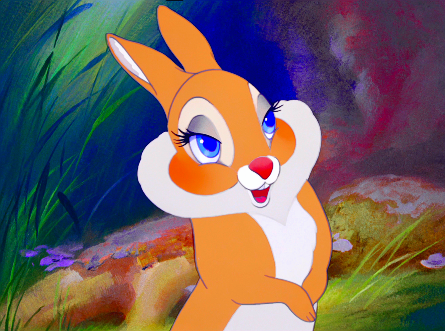 Walt Disney Screencaps - Miss Bunny
