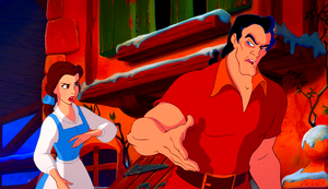 Walt Disney Screencaps - Princess Belle & Gaston