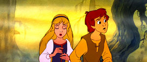 Walt Disney Screencaps – Princess Eilonwy & Taran