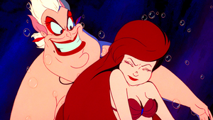 Walt Disney Screencaps - Ursula & Princess Ariel