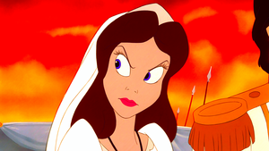 Walt ディズニー Screencaps – Vanessa & Prince Eric