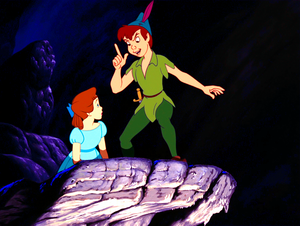 Walt disney Screencaps - Wendy Darling & Peter Pan