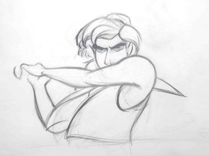 Walt Disney Sketches - Aladin