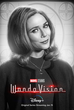 Wanda || WandaVision || Character Poster || Welcome to the neighborhood 🏠