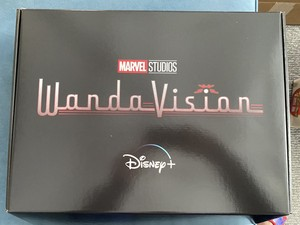 WandaVision Promo Box Filled with Goodies