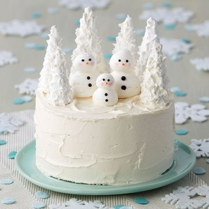Winter Themed Cakes ❄🍰❄