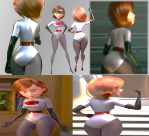 z Elastigirl Helen Parr Incredibles 2