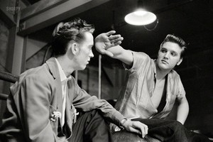 Elvis And His Cousin Gene Smith