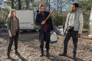 10x22 ~ Here's Negan ~ Negan, Laura and Franklin