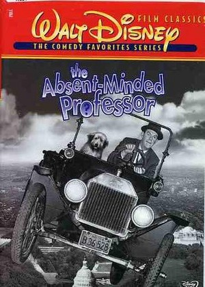 1961 disney Film, The Absent-Minded Professor