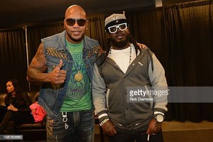 Flo Rida and T-Pain