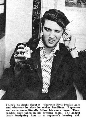 Clipping Pertaining To Elvis Presley