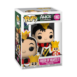 Alice in Wonderland 70th Anniversary - Funko Pop! Vinyl Figure - queen of Hearts (And King)