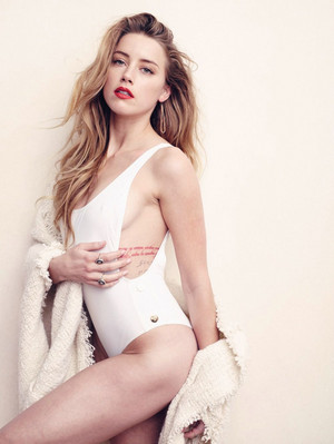 Amber Heard - Elle Photoshoot - 2015