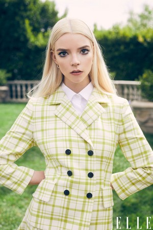 Anya Taylor-Joy - Elle Photoshoot - 2021