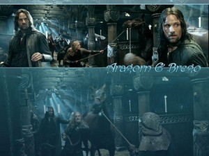 Aragorn and Brego