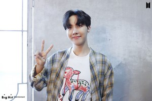 BTS BE Comeback V LIVE Photo Sketch | J-HOPE