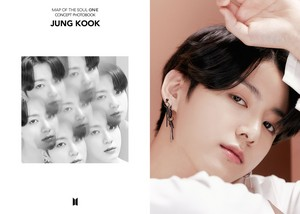 BTS MAP OF THE SOUL ON:E CONCEPT PHOTOBOOK pratonton cuts ROUTE VER. [EGO] | JUNGKOOK