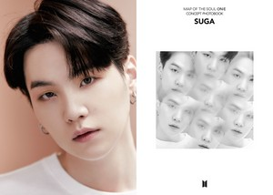 BTS MAP OF THE SOUL ON:E CONCEPT PHOTOBOOK voorbeeld cuts ROUTE VER. [EGO]