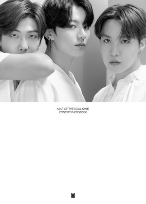 防弹少年团 MAP OF THE SOUL ON:E CONCEPT PHOTOBOOK 预览 cuts ROUTE VER. [EGO]