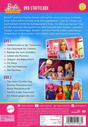 バービー Dreamhouse Adventures DVD (DE)