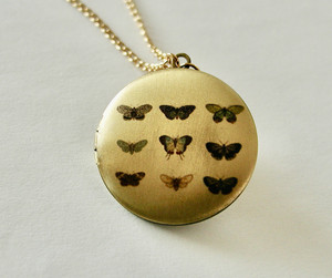 mariposa foto Locket