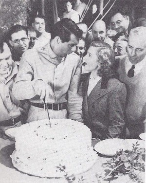 Cary Grant has volunteered to cut your birthday cake