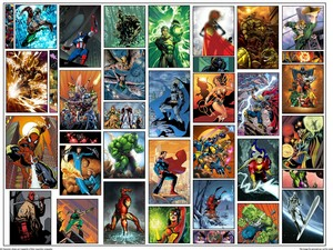 Marvel Comics: Crossovers Collage.