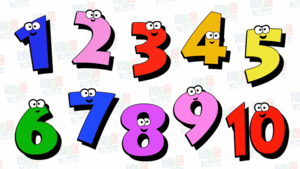 Countïng Numbers For Chïldren | Numbers 1 To 10