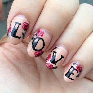 Creative Nail Art ideas for Shania