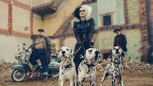 Cruella (2021) First Look Photo - Cruella, Horace and Jasper