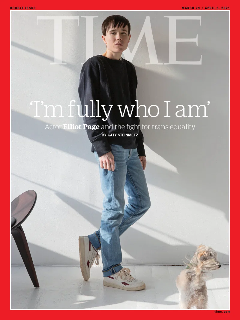 Elliot Page - TIME Cover - 2021